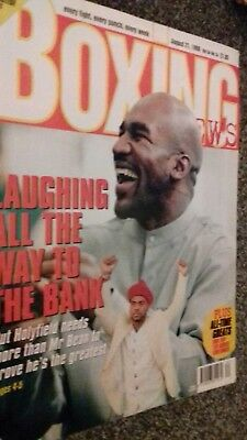 Aug 21St   1998 Boxing News Holyfield/  Joe Louis