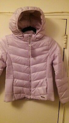 Girls H&M Lavender Quilted Hooded Jacket BRAND NEW $34.99 Size 10-12 or 12-13