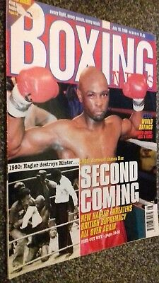 July  10Th  1998 Boxing News Freddy Norwood Interview/Ahmet Dottouev
