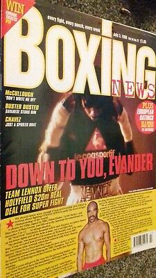 July 3Rd 1998 Boxing News Shane Mosley -Wilfredo Ruiz /Miguel Matthews Interview