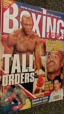 June 5Th 1998 Boxing News Holyfield V Akinwande Preview/Paul Ingle