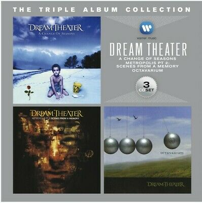 Dream Theater - Triple Album Collection [CD New]