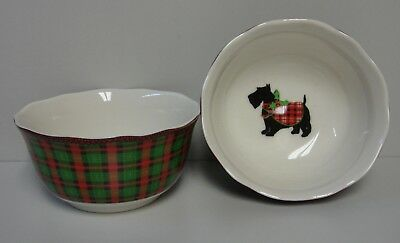 PTS 222 Fifth CHRISTMAS SCOTTY RED Soup Cereal Bowl More Available