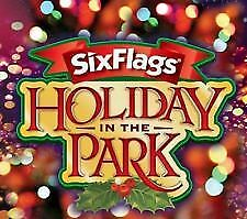 2018 Six Flags Adult Holiday In the Park E-Ticket good through 12/31