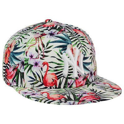 new concept e1ad8 60453 ... inexpensive new era ny york yankees troppin hot island floral 9fifty  snapback cap hat white 6e628