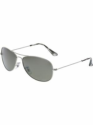 a9307240a2 RAY-BAN MEN S MIRRORED Tech RB8313-003 40-61 Silver Aviator ...