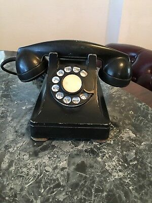 Vintage 1941 Bell System Western Electric F1 Rotary Dial Telephone