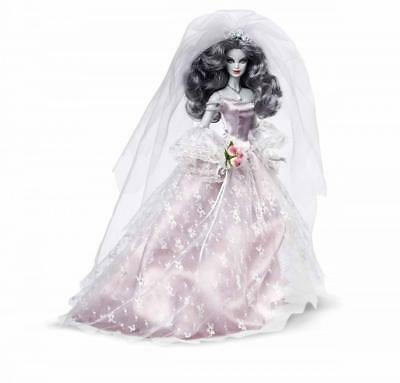 *NIB/NRFB HAUNTED BEAUTY ZOMBIE BRIDE DOLL- BARBIE COLLECTOR- Gold Label  #CHX12