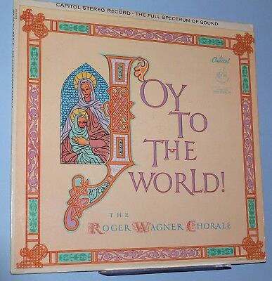 Christmas-Joy to the World! Roger Wagner Chorale-Carols in Original Settings-LP
