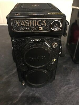 Yashica Mat 124G 6x6 TLR Film Camera W/ Yashinon 80mm F3.5 Owned From New