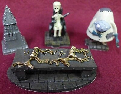 Nightmare Before Christmas Dr. Finklestein Lab Accessory Set w/COA