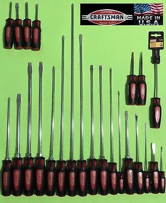 USA Made NOS: Craftsman Professional Premium Screwdriver || Slotted Philips TORX