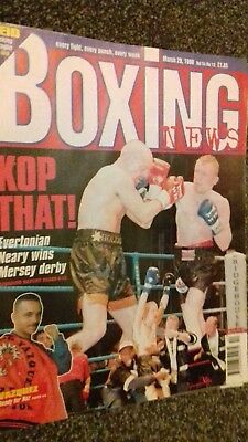 Mar 20Th  1998  Boxing News Shea Neary -Andy Holligan /Danny Williams Preview