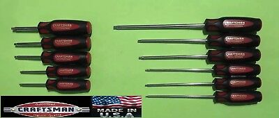 USA Made: Craftsman Professional Screwdriver TORX Set T10 - T40, 11pcs || NOS US