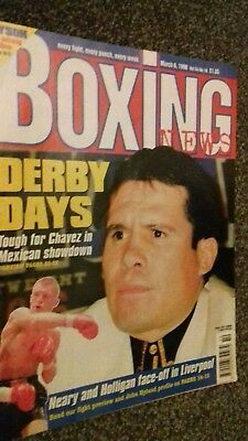 Mar6Th 1998 Boxing News Previews  Chavez V Gonzalez/ Shea Neary V Andy Holligan