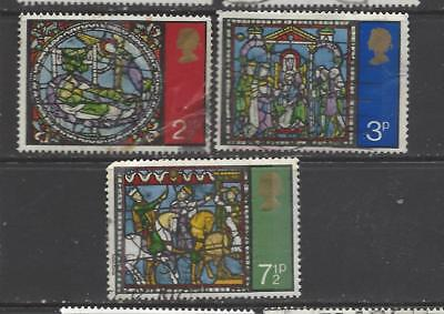 British stamps collection 1971 Christmas issue SG894 - SG896 full set GB