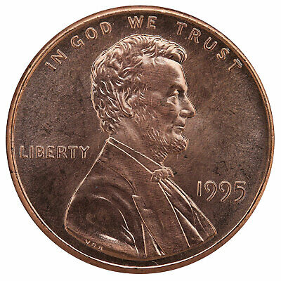 1995 Lincoln Memorial Cent BU Penny US Coin