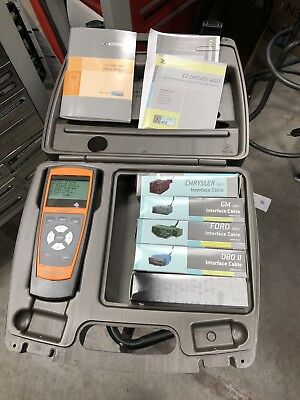 Autoxray Ez Scan 3000 Scanner GM FORD CHRYSLER Cables