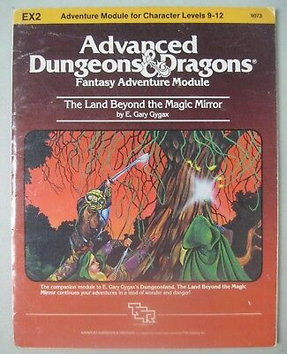Tsr Add Advanced Dungeons & Dragons 9073 The Land Beyond The Magic Mirror Ex2