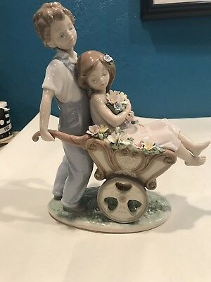 Lladro 6850 The Prettiest of All Porcelain Figurine Mint in Box High Value Piece