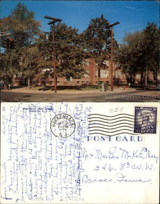 1962 Exterior View of Westwood High School Bergen County New Jersey Postcard