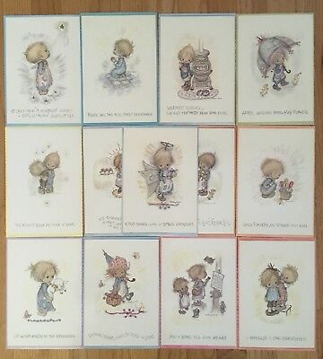Hallmark Betsy Clark Postcards, Oversized, 13 Pieces, Rare Collectible