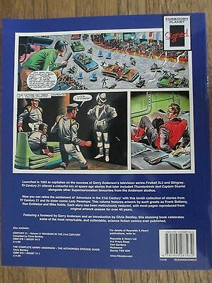 Signed Gerry Anderson Thunderbirds Classic Comic Strip Book Century 21 Vol 1