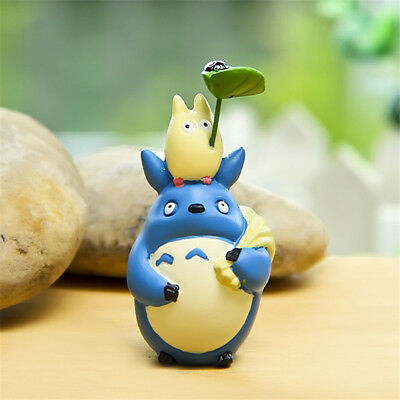 Studio Ghibli My Neighbor Totoro DIY Figure Anime Toy Home Yard Decor