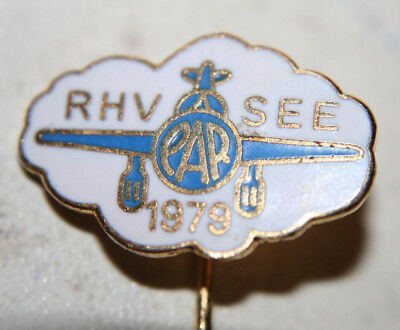 1979 Stick Pin RHV SEE PAR Reid-Hillview Airport Precision Approach Radar Plane