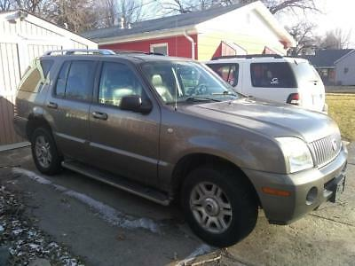 2003 Mercury Mountaineer Premier 2003 Mercury Mountaineer Premier AWD V8 4.6 L (parts vehicle)
