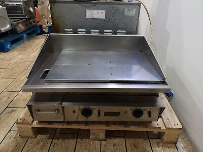 Keating Malibu Heavy Duty Miraclean Chrome Electric Griddle Top Of The Range