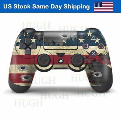 Skin Decal for Playstation 4 Slim Games Sticker for PS4 Controller Dualshock 4