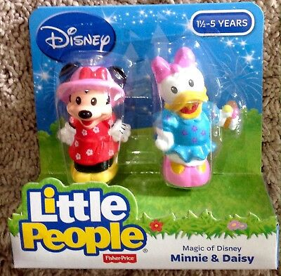 NEW Fisher-Price Little People Magic of Disney Minnie & Daisy Buddy Pack