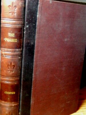 1889 The Prairie By James Fenimore Cooper Leather Stocking Tales