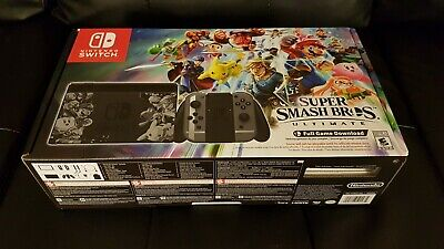 Nintendo Switch Super Smash Bros Ultimate Console [2018] [Brand New!]