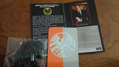 Marvel Comics Agents of Shield Prop Replica Badge Lanyard EFX Collectibles New