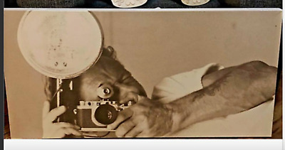 GARAGE SALE - pick up  (from REVESBY): vintage photographer canvas camera OLD