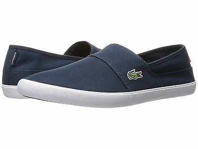 ec5196b07eed Lacoste Marice BL 2 Men s Croc Logo Casual Slip On Loafer shoes Sneakers  Blue