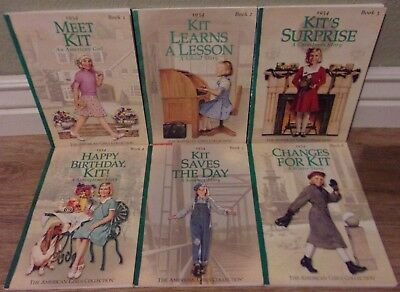 Complete Set Of American Girl Doll Kit Books Book Lot 1-6