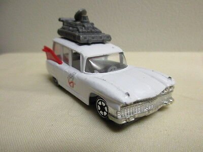 Ghostbusters II Ecto Car 1989 small DieCast Columbia Pictures