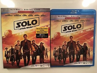 Solo: A Star Wars Story (Blu-ray, No Digital Copy) Save on Combined Shipping!