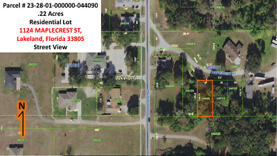 Polk County Property, Residential Lot, Lakeland Florida