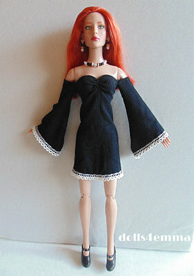 Tonner TYLER & friends Clothes Lolita Handmade DRESS + JEWELRY Fashion NO DOLL