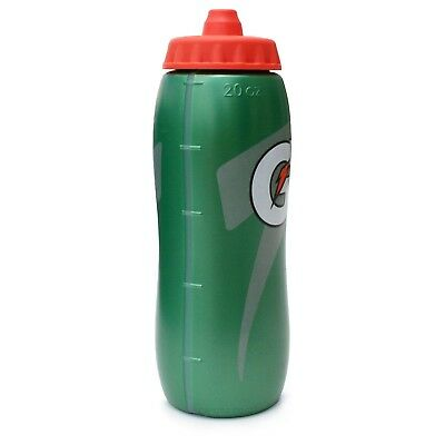 Set Of 2 Gatorade 20 Oz Squeeze Bottle Water, Hydration, Sports, Fitness