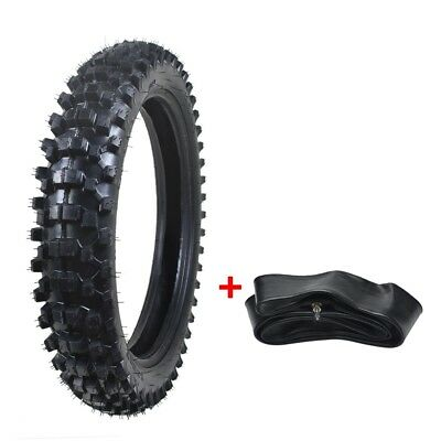 """110/90-18"""" 3.00-18 inch Knobby Rear Tyre Tire & Tube Dirt Bike Atomik Pit new"""