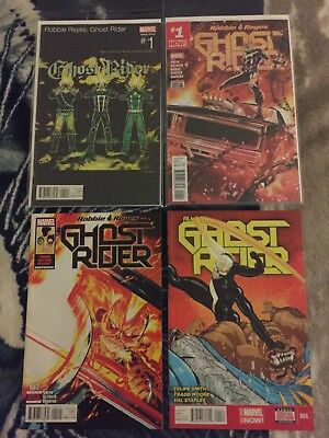 All-New Ghost Rider Comic Lot #1+#1 Variant 9 Issues Marvel 1st App Robbie Reyes
