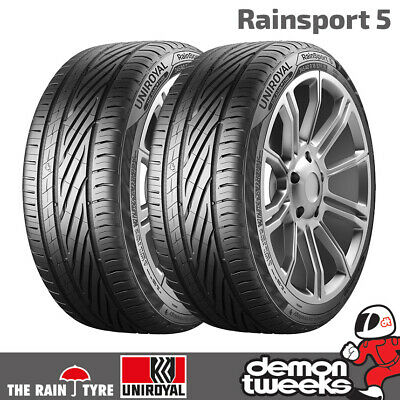 2 x Uniroyal RainSport 3 Performance Road Car Tyres - 205 55 16 91V