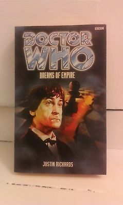 BBC DOCTOR WHO BOOK : 2nd DOCTOR ADVENTURE  : DREAMS OF EMPIRE
