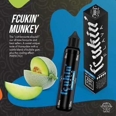 Sale!!! Fcukin Flava Fcukin Munkey 60Ml 3Mg Vape Juice