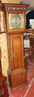 1800's Brass Face 8 x day Grandfather Clock by Seddon  from Frodsham